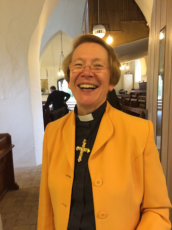 The Revd Dr Amanda Jane 'Mandy' Elmes
